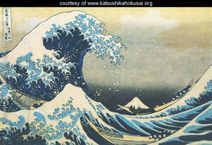 Mount-Fuji-Seen-Below-a-Wave-at-Kanagawa