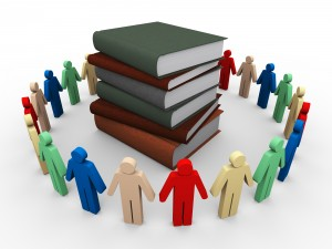 http://www.dreamstime.com/royalty-free-stock-image-3d-people-around-books-image24579066