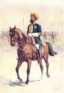 14th_Murrays_Jat_Lancers_(Risaldar_Major)_by_AC_Lovett_(1862-1919)
