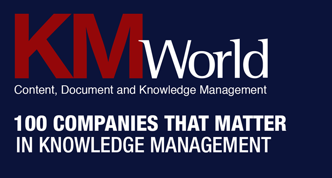 TaxoDiary – Access Innovations, Inc  Included on KMWorld's